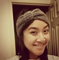 The pattern allows the ear warmer to be made in any size. It works up quickly and doesn't use much yarn (
