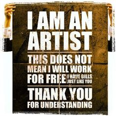 Word! Art degrees cost money to!