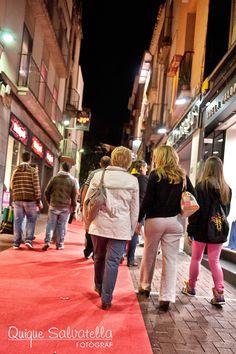 El centro de la ciudad de Terrassa se llenó de gente paseando y difrutando de la iniciativa.