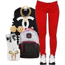 Image result for jordan girl outfits