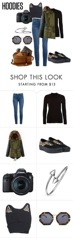"""Senza titolo #845"" by istrice ❤ liked on Polyvore featuring Paige Denim, River Island, Vans, Eos, Bling Jewelry, Karen Walker and Hoodies"