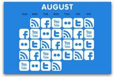 Tips to using a social media calendar 1. understand your target audience 2. visually map your brands interestes 3. fill the calendar 4. build excitement 5. be in sync  via @Ragan Communications
