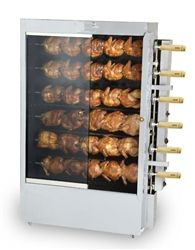 This Churrasco Brazilian Electric Rotisserie Grill all Stainless Steel Skewers is designed to produce succulent grilled Brazilian style BBQ. Chicken Store, Oven Chicken, Roast Chicken, Grilled Chicken, Rotisserie Grill, Best Charcoal Grill, Bbq Kitchen, Kitchen Ideas, Kabob Recipes