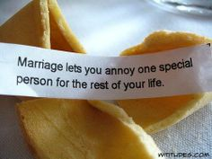 Marriage.   :-)