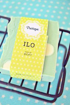 ILO saippua. Tehty mittatilauksena Puotiquelle (Doft)