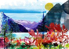 Jill Calder   Hand Draw & Collage Illustrators   Central Illustration Agency Poster Competition, Book Binding, Mark Making, Photo Illustration, Artist At Work, Digital Image, Illustrators, Art For Kids, Art Projects