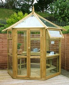 Kendal Glass House, Greenhouse With A Wooden Frame By Zest, Http://
