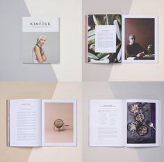 Lookbook Inspiration // Love the minimalist look of the Kinfolk magazine.