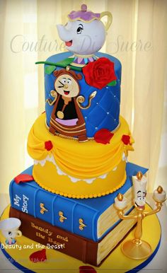 Beautiful cake.. Beauty and the Beast