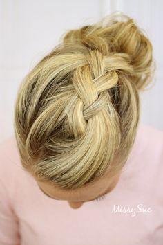 dutch-braid-double-bun