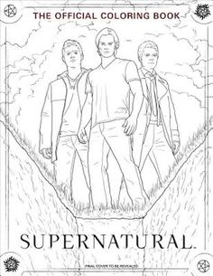 Supernatural coloring book. Bol 15,49
