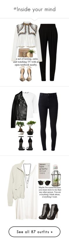 """""""#Inside your mind"""" by lolgenie ❤ liked on Polyvore featuring Siste's, Isabel Marant, Gucci, Gianvito Rossi, Chanel, STELLA McCARTNEY, Maticevski, Yves Saint Laurent, H&M and T By Alexander Wang"""