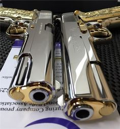 Twins A pair of sequentially numbered Colt 1911′s chambered in .38 Super. Although Colt has released special/limited edition versions of their firearms in the past, this pair is not one such example....