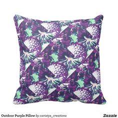 Outdoor Purple Pillow