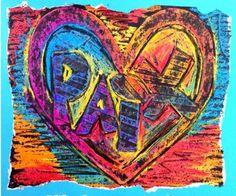 Voici un projet d'arts plastiques médiatique. 2e cycle et plus. Dans cette création, les élèves doivent choisir un mot pour créer un graffiti. Ce graffiti exprimera un souhait pour la nouvelle année qui débute. Dans le monde, cette année, je voudrais plus de.... ?