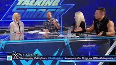 Did The Miz just demand a TRADE from WWE SmackDown Live on Talking Smack on WWE Network?
