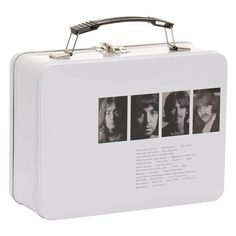 Vandor: The Beatles Limited Edition White Album Large Tin Tote. The anniversary of The White Album on November 2018 The White Album, 50th Anniversary, The Beatles, Rebel, Tin, November, Lovers, Gifts, Tin Metal