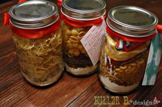 Homemade Hamburger Helper in a jar. Perfect gift for new moms, grads, birthday gals and guys. Just like the store version, but with better ingredients and REAL cheese!