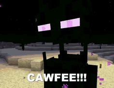 Enderman Shaking For Coffee - Minecraft