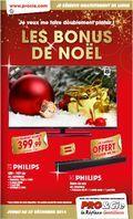 Catalogue Procie Le bonus de Noël  du vendredi 28 novembre 2014 au samedi 27 décembre 2014 ( 28/11/2014 - 27/12/2014 )