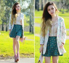 Cat Prints (Giveaway on my blog) (by Chloe T) http://lookbook.nu/look/3694513-Cat-Prints-Giveaway-on-my-blog