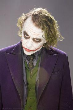 Heath Ledger as The Joker in Batman The Dark Knight,