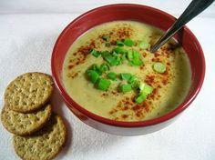 Creamy Potato Soup - perfect on a cold winter's night!