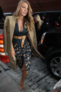 Blake Lively Michael Kors Fashion Show