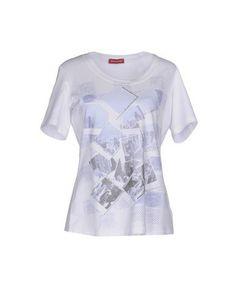 Prezzi e Sconti: #Diana gallesi t-shirt donna Bianco  ad Euro 49.00 in #Diana gallesi #Donna topwear t shirts