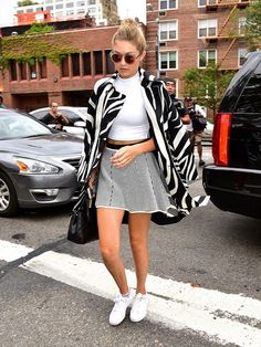 Gigi Hadid's Off-Duty NFYW Skirt Is Only $65
