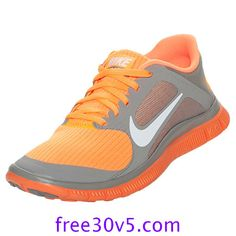 50% Off Nike Frees,Nike Free 4.0 V3 Womens Sport Grey White Bright Citrus