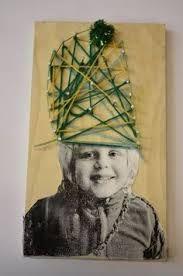 Image result for zelfportret maken met kleuters