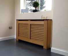 Oak Radiator Covers Cabinets Made To Measure, Veneered Oak