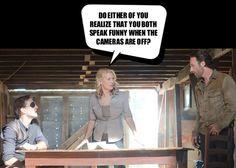 Haha! I had no idea Rick was a Brit...