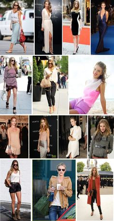 One Stylish Day at a Time: Fabulous Fashionista // Rosie Huntington -Whiteley