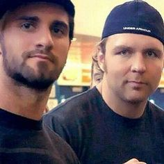Seth Rollins and Dean Ambrose
