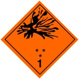 #pictogram #transport #Ontplofbare #stoffen