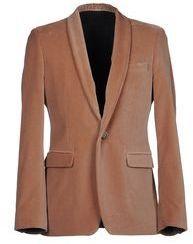 Brown Velvet Blazer by MSGM. Buy for $225 from yoox.com