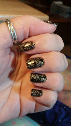 Beyond the Nail - Hay Ride.  Stamped with black on Lina Make Your Mark 1 plate