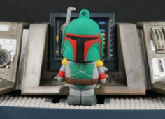 Star Wars Figure Cake Topper Boba Fett