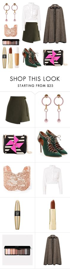 """""""I Might"""" by massielcristina on Polyvore featuring moda, Chicwish, Maria Francesca Pepe, Betsey Johnson, Malone Souliers, Aurélie Bidermann, T By Alexander Wang, Max Factor, Axiology y Puma"""