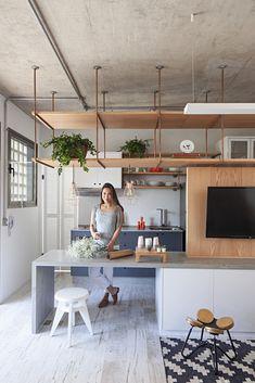 Galeria de Apartamento com partições / Casa100 Arquitetura - 19