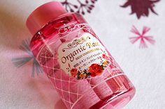 Organic rose skin conditioner (化粧水) from Japan