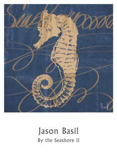 By the Seashore II Print by Jason Basil at Art.com