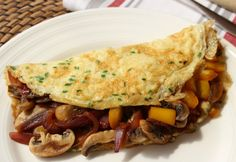 The No Fuss Omelette is extremely versatile you can enjoy it for Breakfast, Lunch or Dinner!  I'm loving chives at the moment – they really liven this up!  Gluten Free, Dairy Free, Paleo & whole30