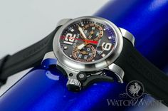 """Graham Chronofighter R.A.C Trigger """"Charcoal Rush"""" Chronograph - 60% OFF RETAIL"""