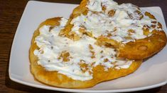 roppanos-langos-hazilag-mindossze-negyed-ora-alatt-eleszto-nelkul Recipe Box, French Toast, Mashed Potatoes, Pizza, Pancakes, Bread, Food And Drink, Breakfast, Ethnic Recipes