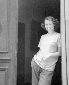 Audrey Hepburn, circa 1947