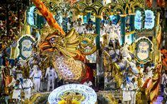 Carro alegórico homenageou sambistas ilustres da Vila Isabel, como Pixinguinha, Noel Rosa e Martinho da Vila