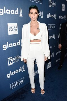 Ruby Rose At The 27th Annual GLAAD Media Awards
